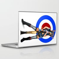 tank girl Laptop & iPad Skins featuring Tank Girl by Valérie Loetscher (Vay)