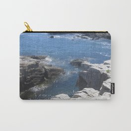 Carving Ocean Carry-All Pouch