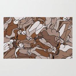 Chocolate Coffee Body Slugs Rug