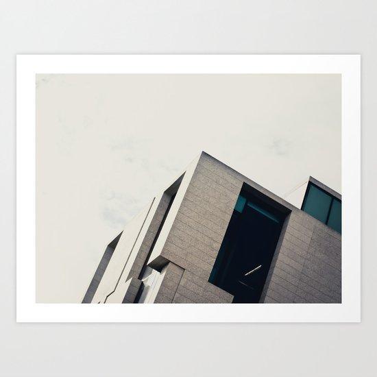 Modern Architecture Art Print