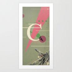(Times) C Art Print