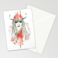 Zodiac - Taurus Stationery Cards