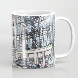 Bus New York City Coffee Mug