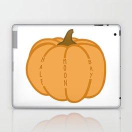 Half Moon Bay Pumpkin Laptop & iPad Skin