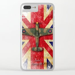 Hawker Hurricane Mk.I Clear iPhone Case