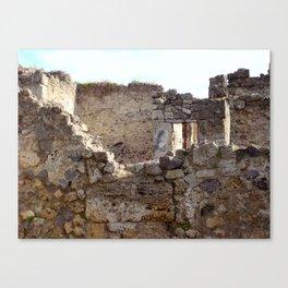 Pompeii Ancient Dwelling - 1 Canvas Print