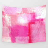 running Wall Tapestries featuring Running Late by T30 Gallery