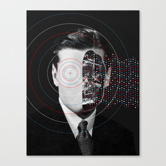 Artificial intelligence (2017) Canvas Print