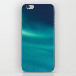 Turquoise Star Galaxy iPhone Skin