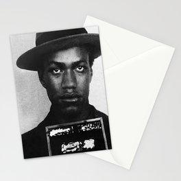 Malcolm X Mugshot Stationery Cards