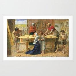 John Everett Millais - Christ in the House of His Parents (The Carpenter's Shop) Art Print