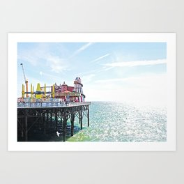 Seaside Excursion Art Print