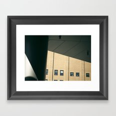 shapes and shadows Framed Art Print