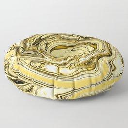 Autumn Gold Floor Pillow