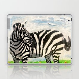Stripes and Sunflowers Laptop & iPad Skin