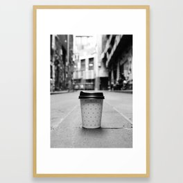 Coffee in Melbourne Framed Art Print