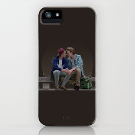 LOVE, EVAK. (dark version) iPhone Case