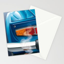 Renault Alpine A110 from 1962 Stationery Cards