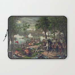 Civil War Battle of Chancellorsville April 30 to May 6, 1863 Laptop Sleeve