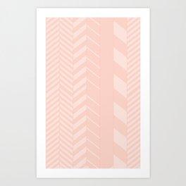 Arrow Lines Art Print