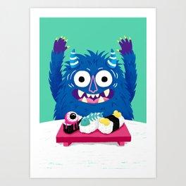 I Heart Sushi Art Print