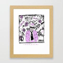 hy Framed Art Print
