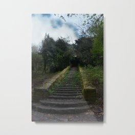 Steps Metal Print