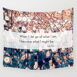 Daily Meditation Quote Wall Tapestry