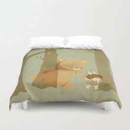 Oso Follow Me Duvet Cover