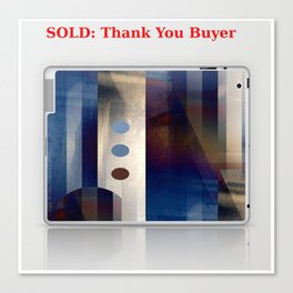 Sold:Thank You Buyer Canvas Print