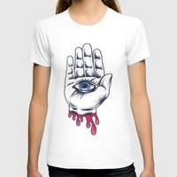 occult T-shirts featuring Occult Hand by Adam Gillespie Artwork