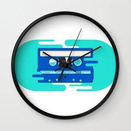 Mixtape 1 Wall Clock
