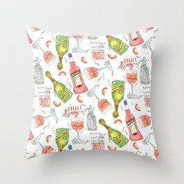 Italian Spritz Throw Pillow