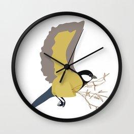Bæremeis (Great tit carrier ?  :)   ) Wall Clock