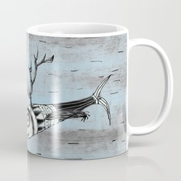 Fish with horns and claws Coffee Mug