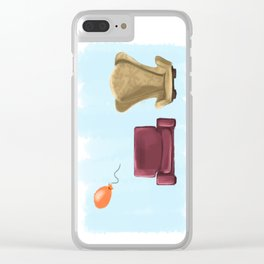 New Up Clear iPhone Case