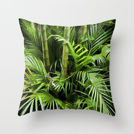 Junglin Throw Pillow