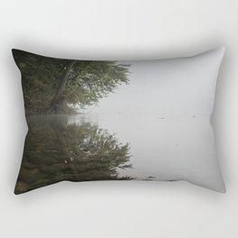 Misty River Bend Rectangular Pillow