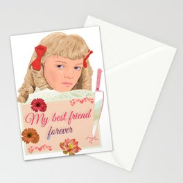 Nellie Oleson in the little house Stationery Cards