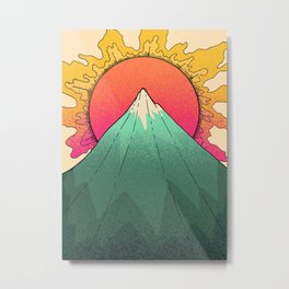 As a spring sun burst  Metal Print