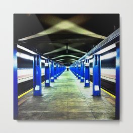 metro v.4 Metal Print