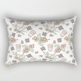 Coffee Coffee Rectangular Pillow