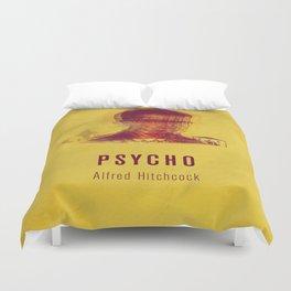 PSYCO - Hitchcok Poster Duvet Cover