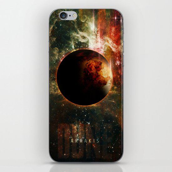 DUNE Planet Arrakis Poster iPhone & iPod Skin