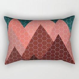 Blood Mountain Rectangular Pillow