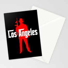 Los Angeles mafia Stationery Cards