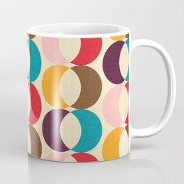 Mid Century Modern Circles Coffee Mug