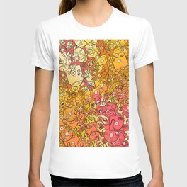 Technology Psychedelic Warm T-shirt