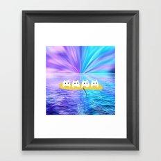cat-560 Framed Art Print