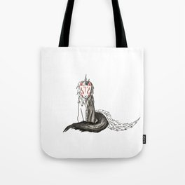 The Space Between Two Worlds Tote Bag
